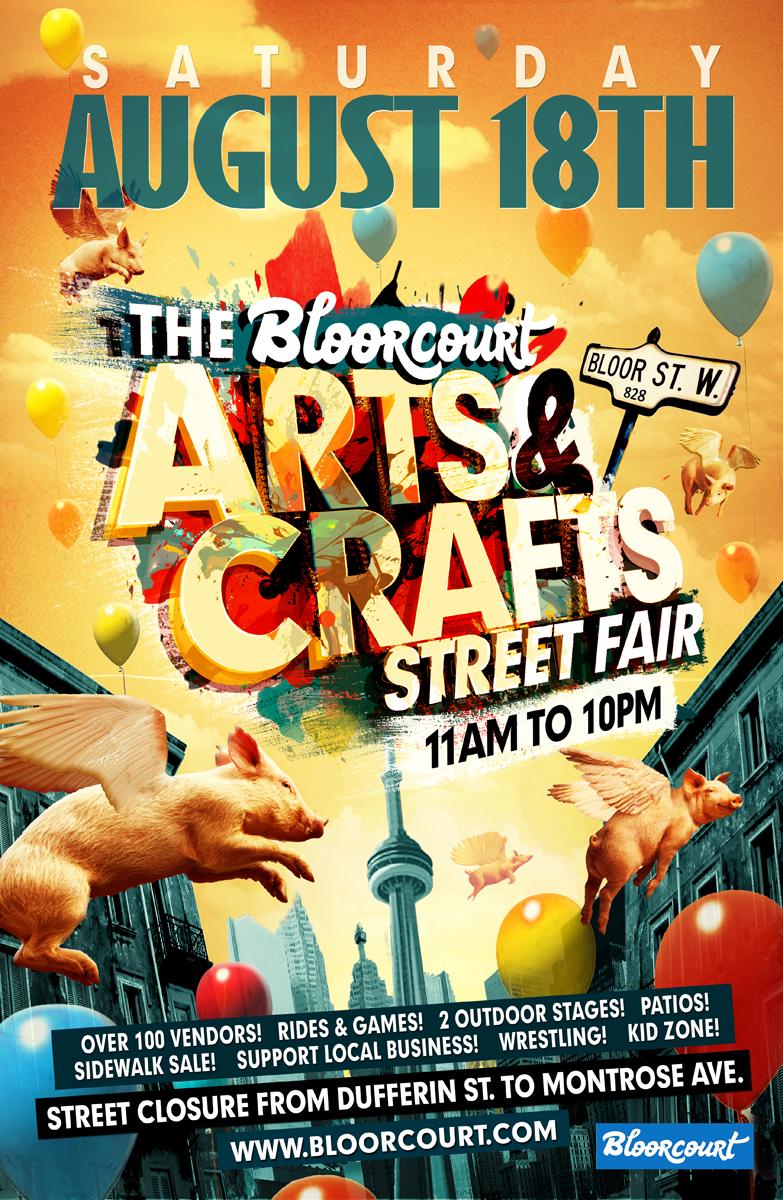 This Weekend We Re At Bloorcourt Street Fest Hot Pop