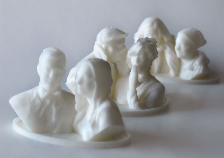 3D Printed Statuettes