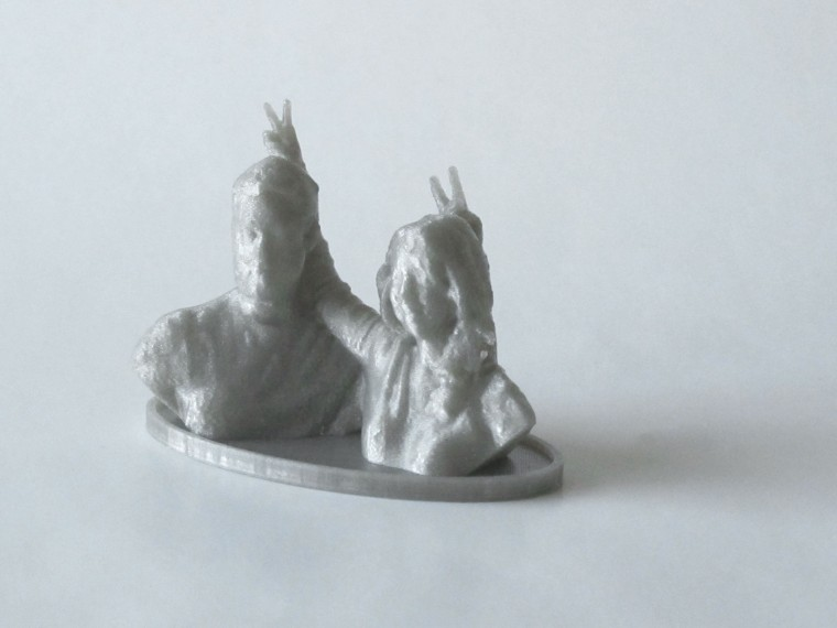 3D Printed Couple