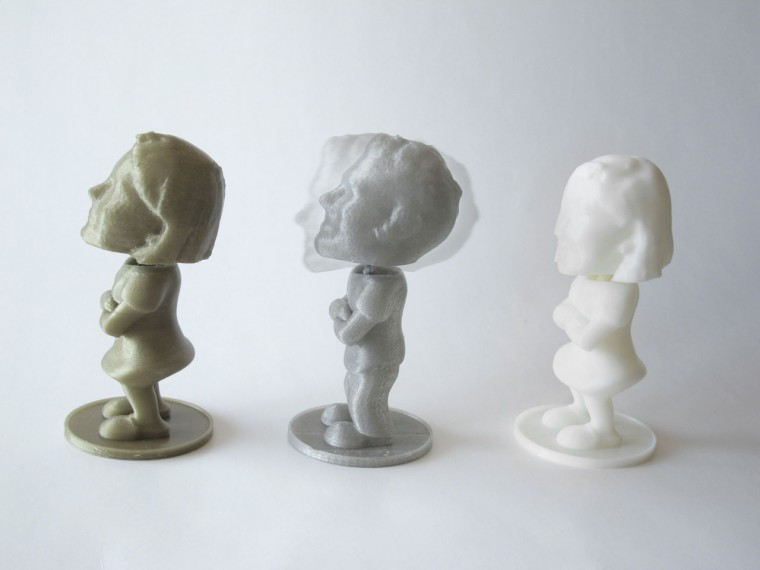 Personalized 3D Printed Bobble Heads