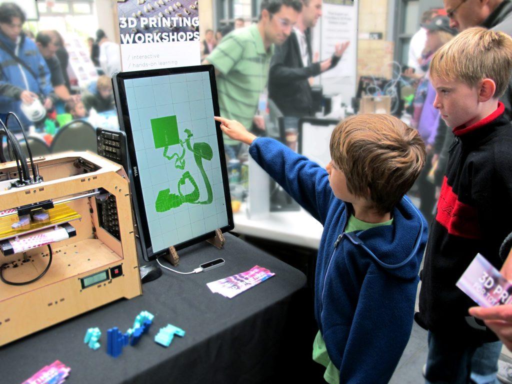 Leap Motion Hot Pop Factory Makerfaire