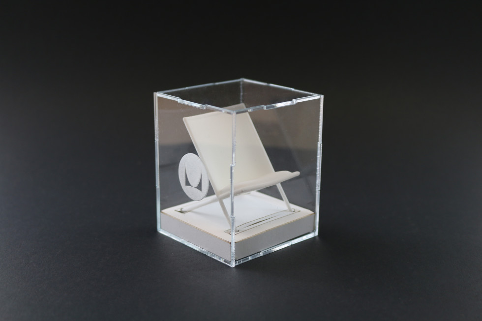 3d printed Herman Miller mini Scissor Chair