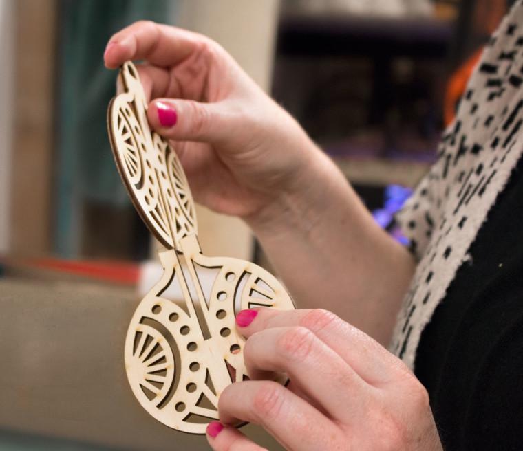 Hot Pop Factory Wooden Ornaments 01