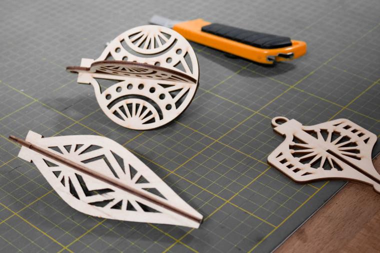 Hot Pop Factory Wooden Ornaments 02