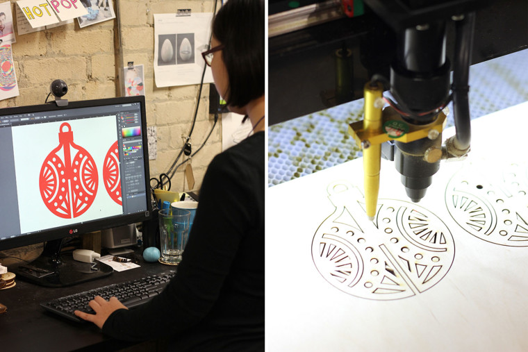 The Sweet Escape Laser Cutting at Hot Pop Factory
