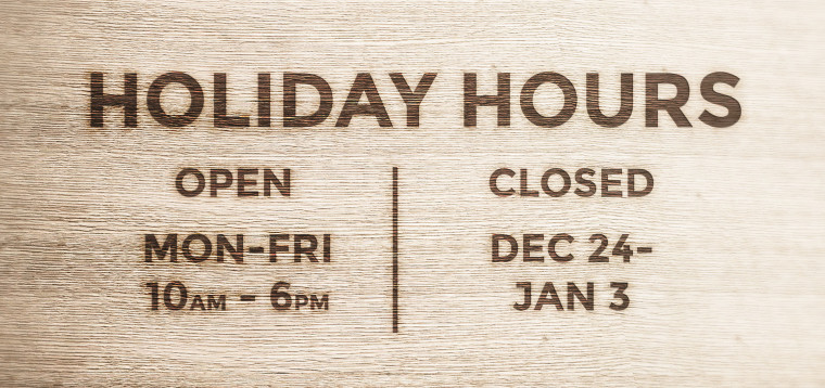 Hot Pop Factory Holiday Hours