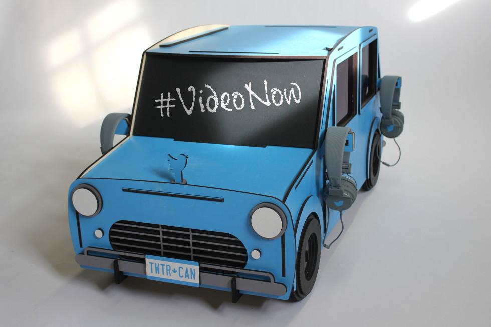 Twitter Canada Car Media Kiosk