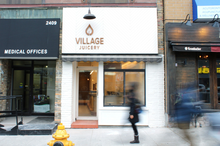 Village Juicery Store Front