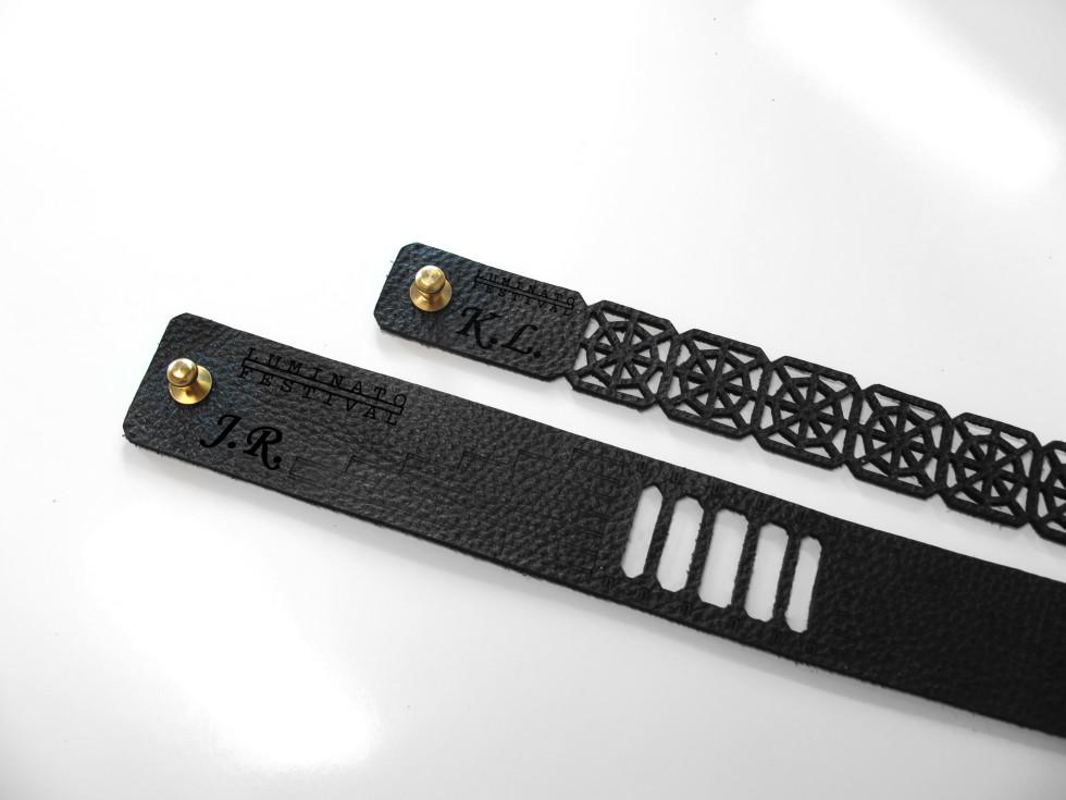 Laser Engraving Leather Bracelets Toronto