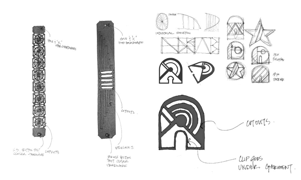 Luminato Event Gifts Sketches