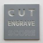 laser engraved rubber
