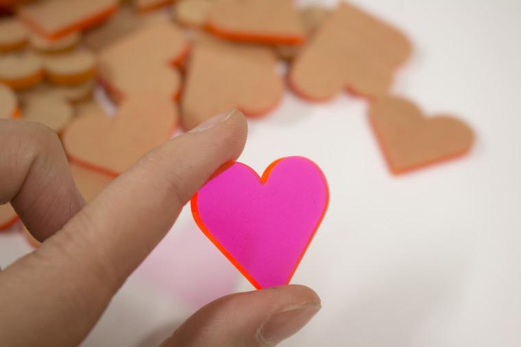 Laser Cut Acrylic Heart