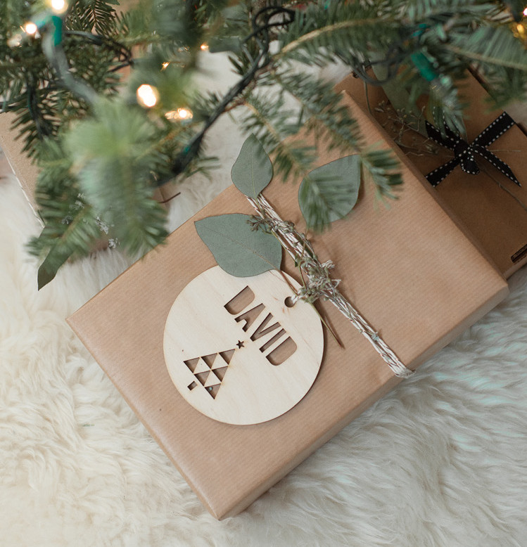 hot pop factory loveonsunday wooden laser cut gift tag ornament