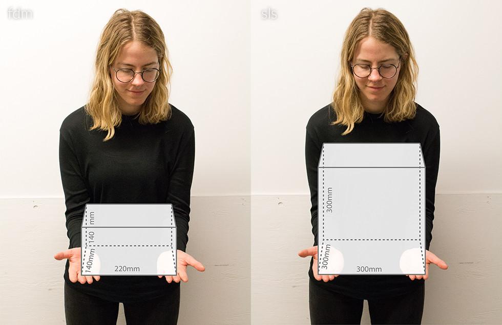 3d print printing sls fdm model
