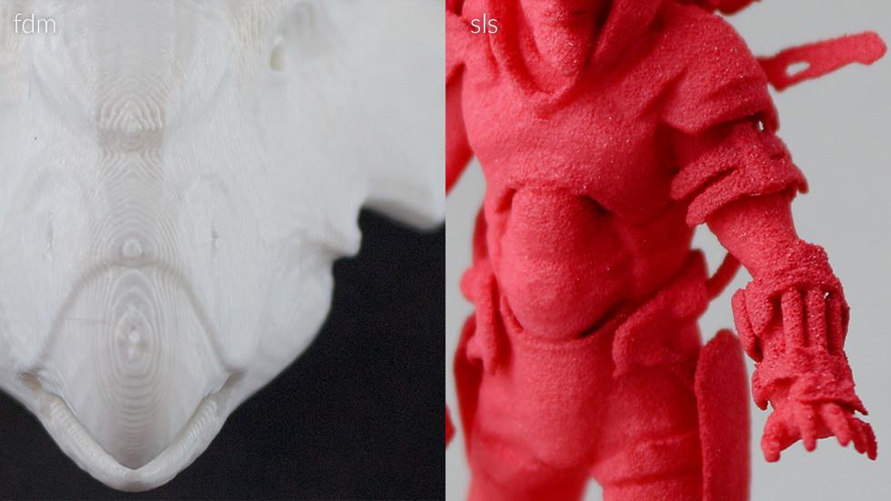 3d print printing sls fdm model surface finish steps smooth matte