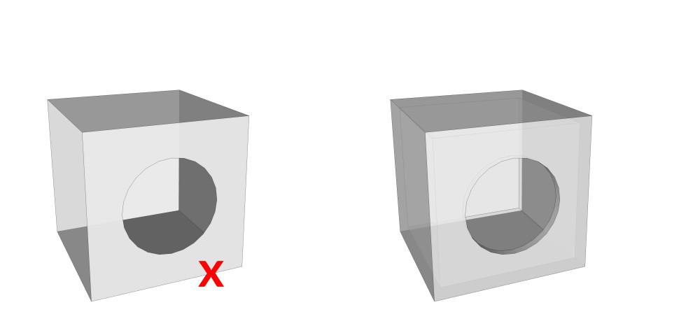 model 3d print printing prepare preparing fdm sls digital modelling tutorial how to diy guide lesson watertight water tight