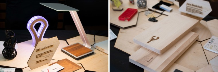 Laser Cut Industrial Design and Chopping Block