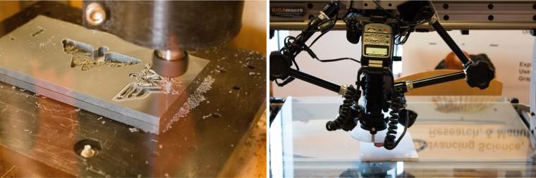 Desktop CNC and Robotic Camera