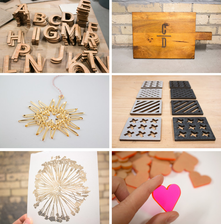 Laser Cutting Engraving Wood Paper Acrylic Leather