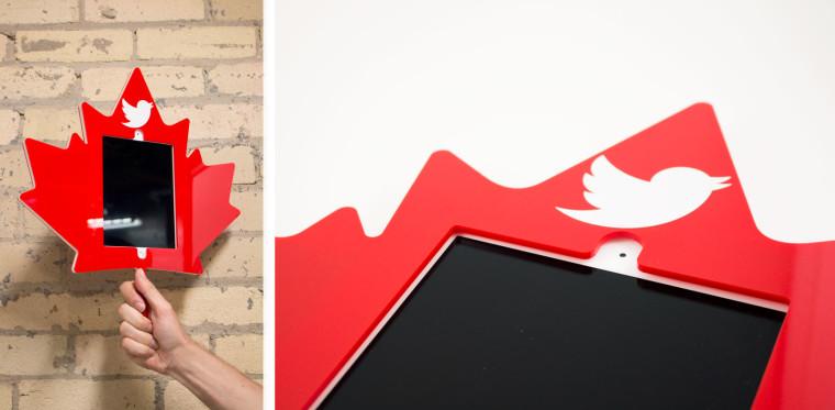 Twitter Mirror Laser Cut Acrylic