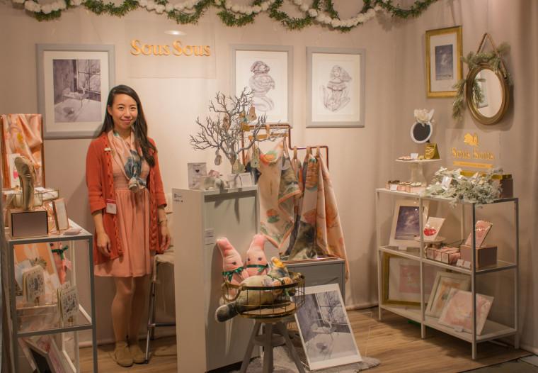 SousSous tradeshow display