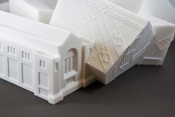 3D Printing SLS Architecture Model 600Px