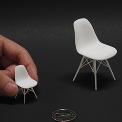 Miniature Eames Chairs