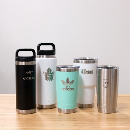 Custom Engraved Branded Drinkware