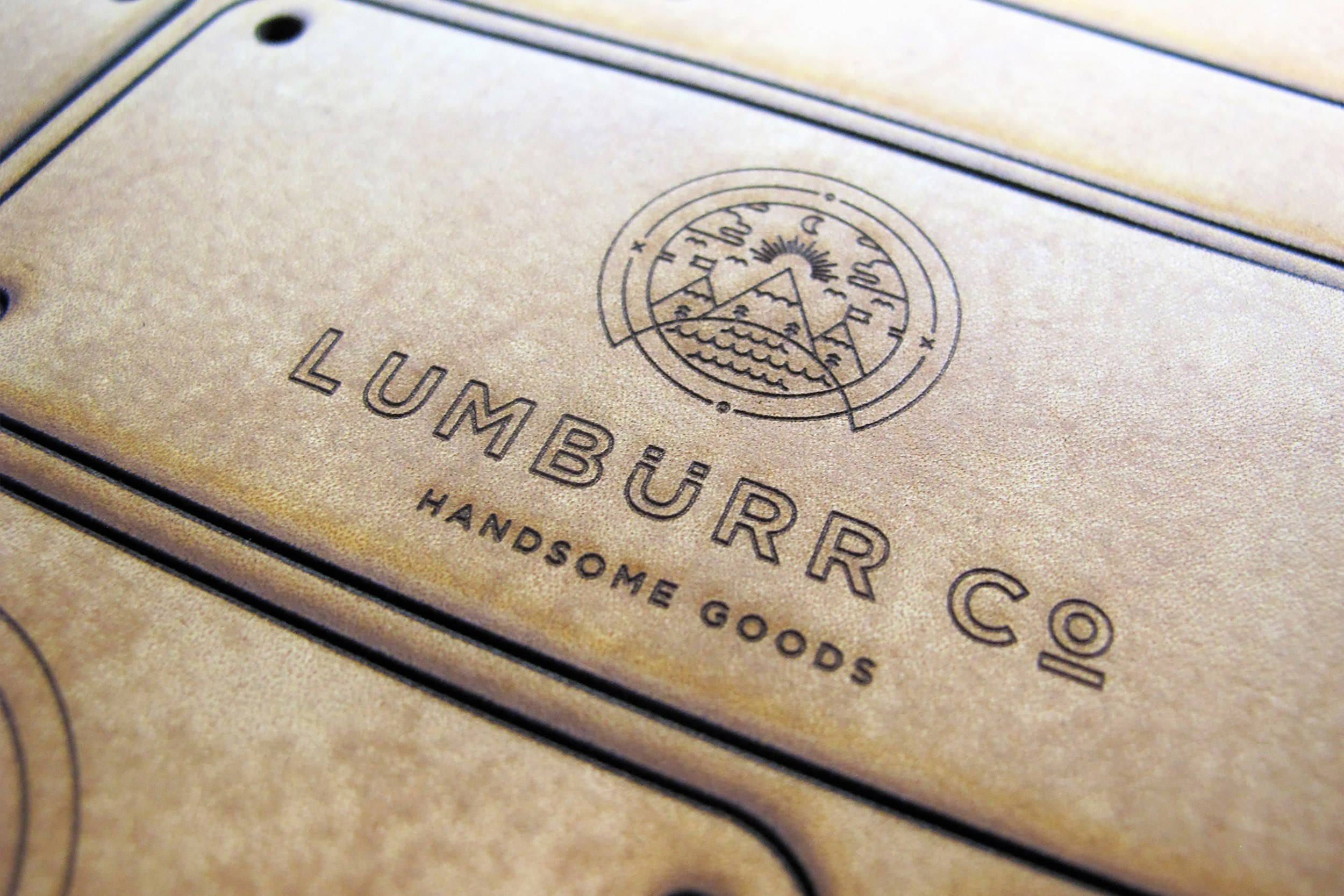 Laser Cutting Leather Brand Tag 2500Px
