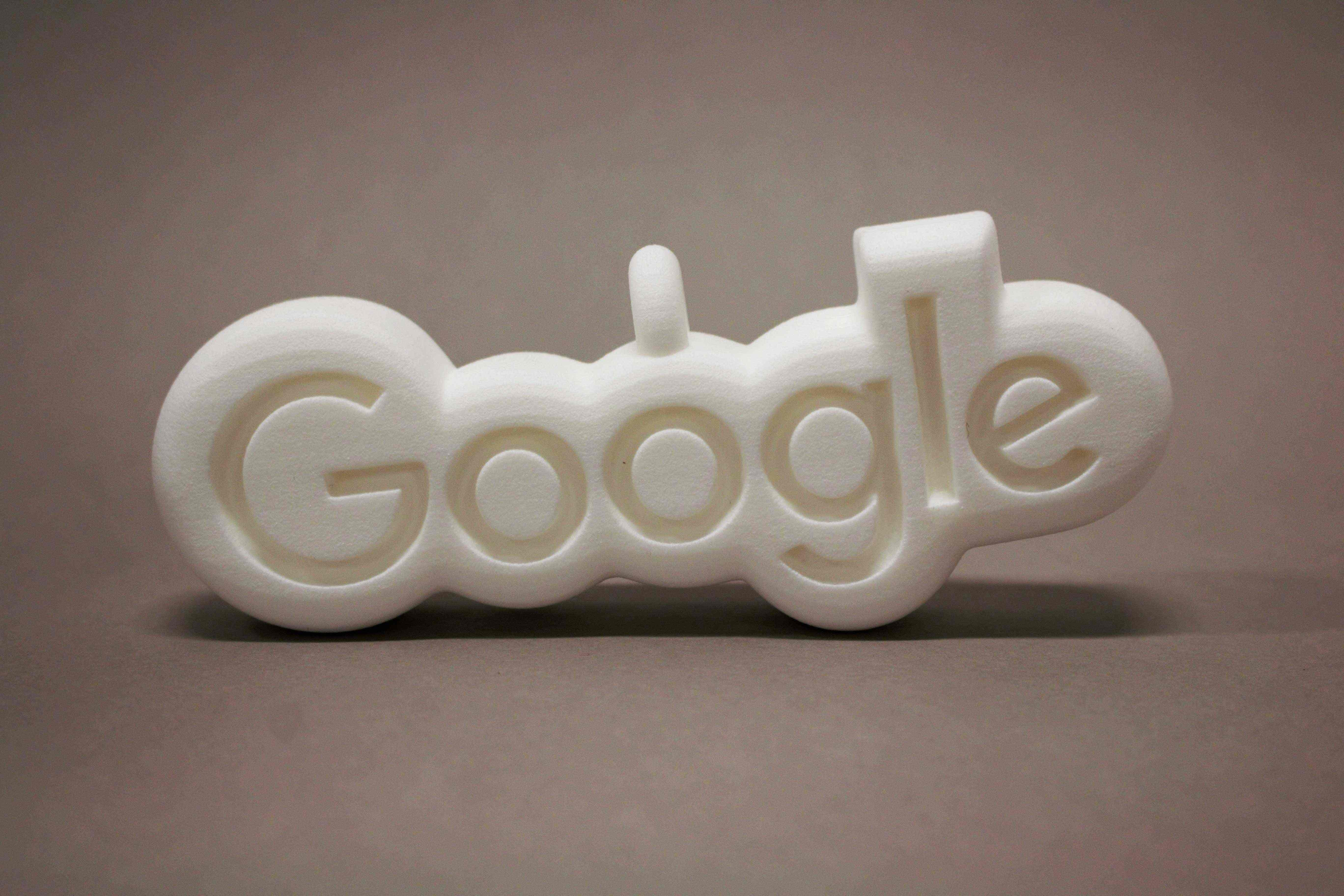 3D Printing Ornament Google