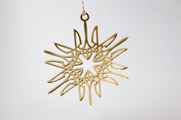 Laser Cuting Acrylic Christmas Ornament 600Px