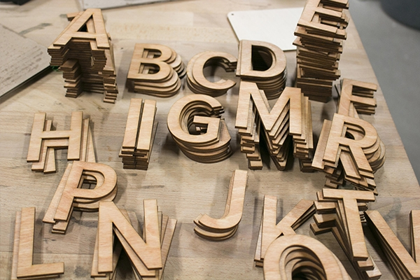 Laser Cutting Plywoods Letter Cutout 600Px
